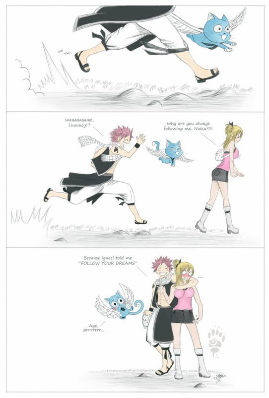 Le rêve de Natsu : Lucy !