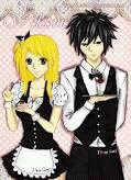 Grey et Lucy font du cosplay