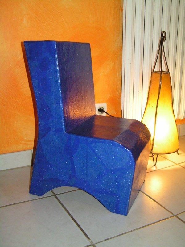 fauteuil pailleté pour enfant