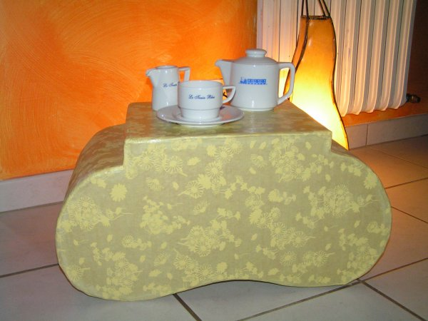 table basse/ pouf