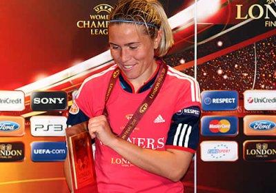 Championne d'Europe et championne de France