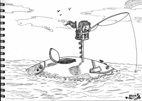 La pêche à la ligne :