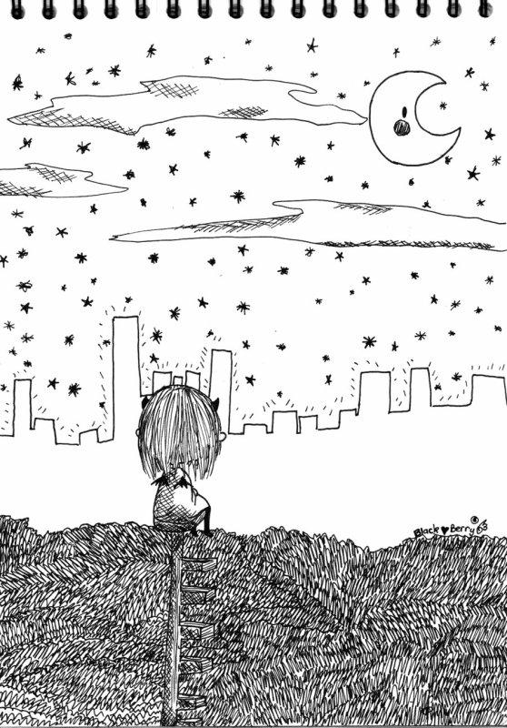 Un dernier regard sur la ville :