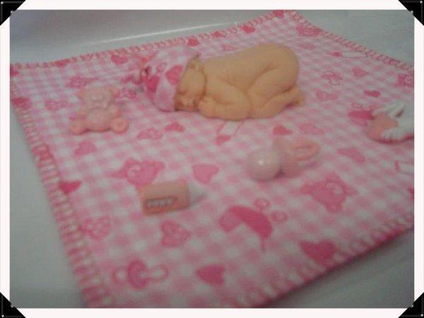 Mes premières créations de bébés dormeurs en polymère ........