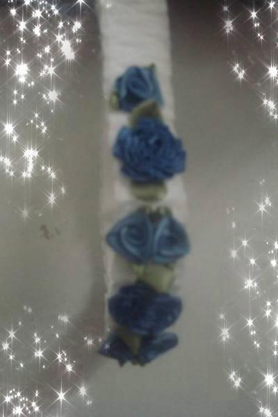 Ensemble robe Bleu Nuit ........ bébé reborn