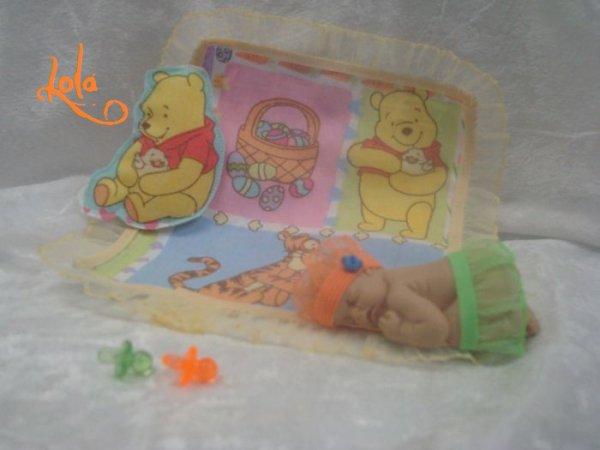 Bébé dormeur en polymère .......