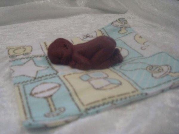 Mes p'tits bébés  ...... peau chocolat !!!