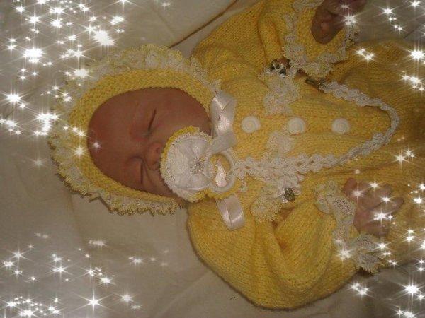 Lolette au crochet pour bébé reborn !