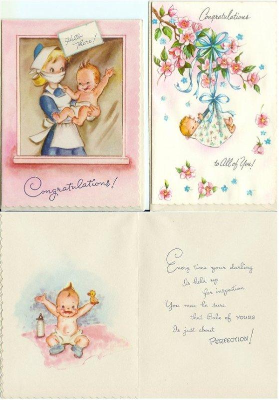 Anciennes cartes de voeux ....
