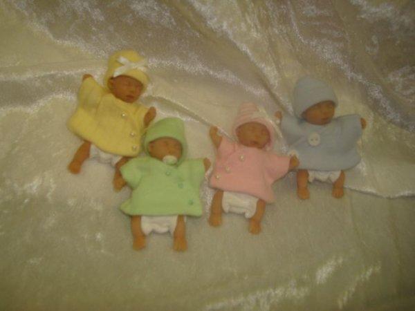 Mes petits quadruplés miniatures ......