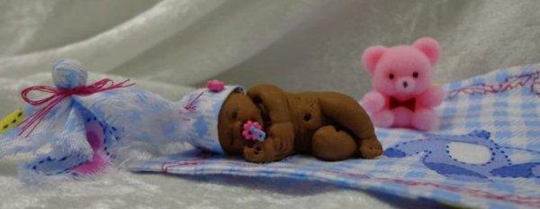 Méli ..... bébé dormeur de 5cm .....