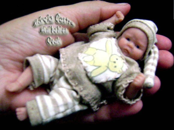 Les bébés miniatures en silicone ......