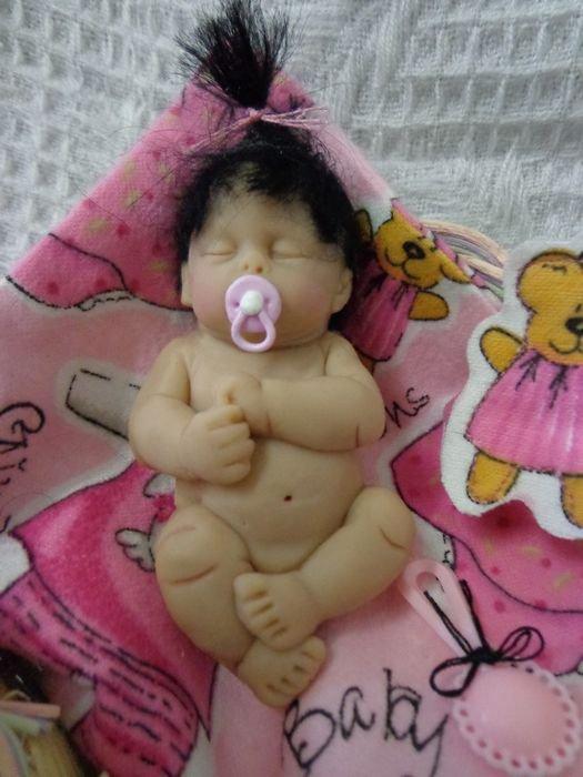 Bébé dormeur 10cm ........ Li-Mei ..........