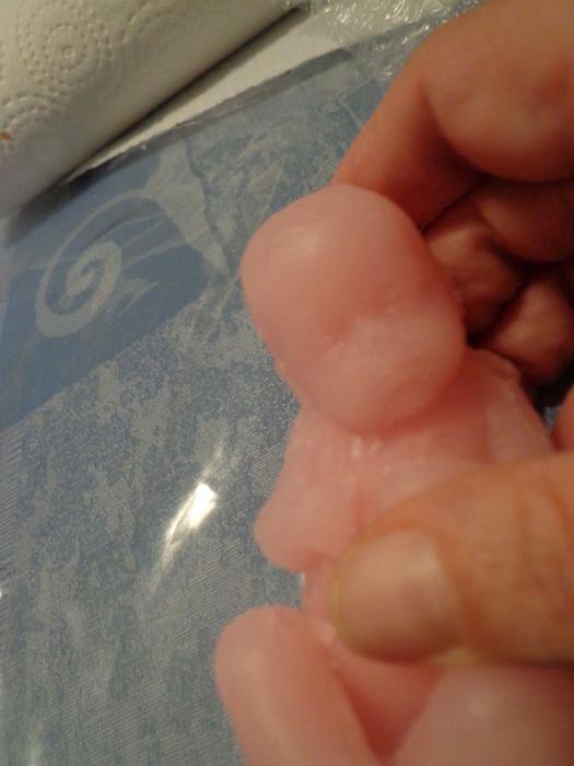 1er essai bébé en silicone ......