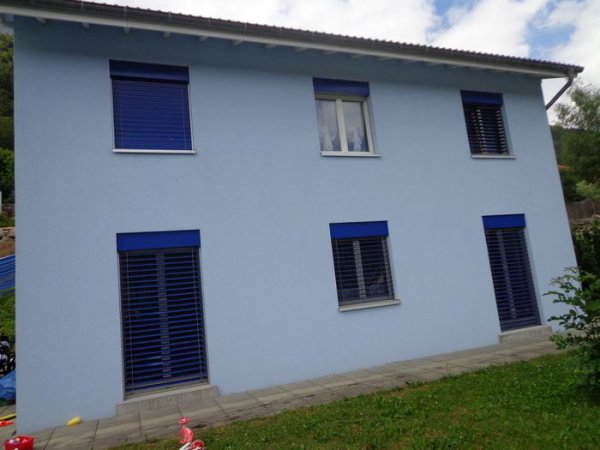 Ma maison bleue .......