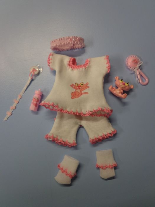 Mini ensemble Baby pink panther ....