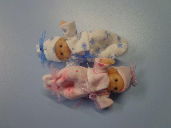Mini babie's ... Léo et Léa .............