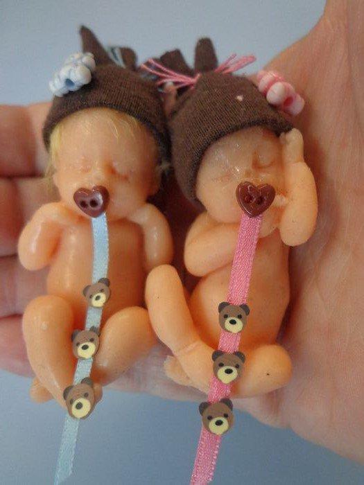 Mini bébés en silicone ..... Tony et Tania