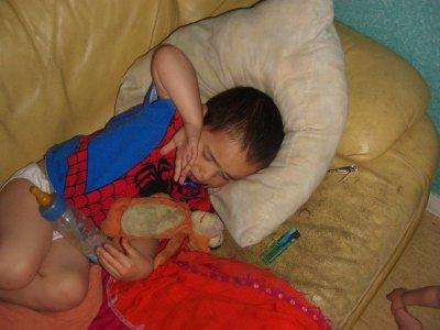 spiderman envahit ma maison