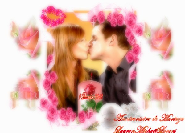 @ KDO POUR VOUS A L'OCCASION DES 5 ANS DE MARIAGE DE LAUREN & MICHAEL BALDWIN  LE 9 DECEMBRE DERNIER @ QUE CA PASSE @