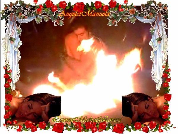 @ KDO POUR VOUS LES AMIES @ ANGEL & MANUELA SALVADOR @ MOMENT TRES PASSIONNE & ROMANTIQUE AU COIN DU FEU SUR LA PLAGE @