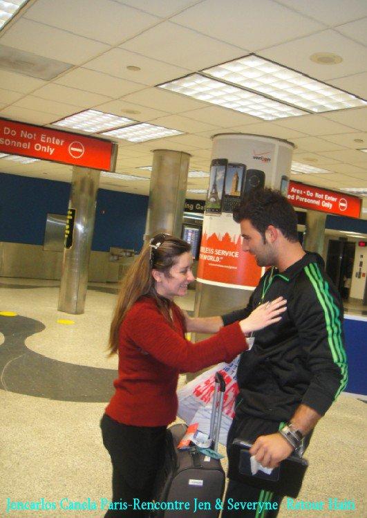 @ Yes, les filles, j'ai enfin rencontrée Jen ! trop bien son concert @ Quelques photos de mon voyage à Miami @ Après tant d'obstacles, un petit calin et bisous...@ Il est vraiment magnifique @
