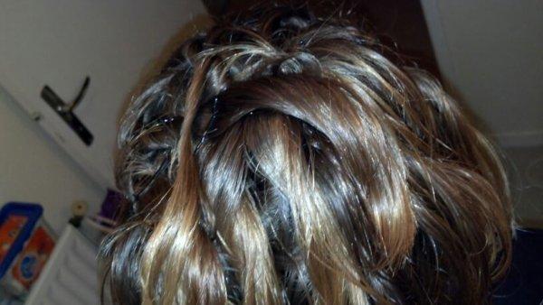 Ma coiffure d ier