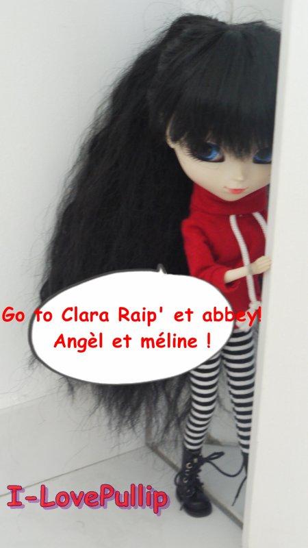 L'annif de Clara avec eglantine !