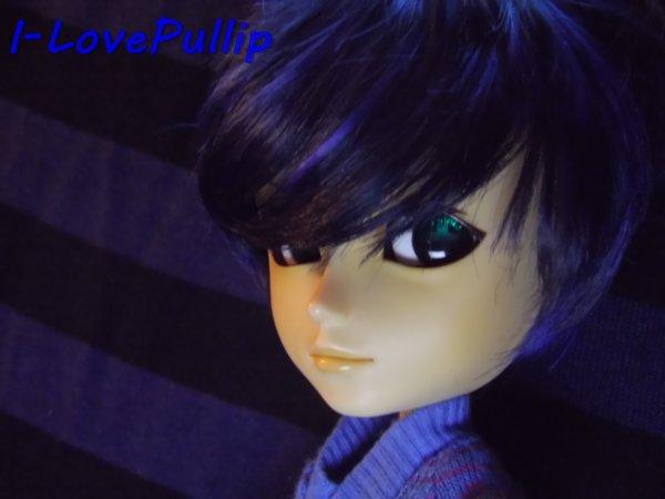 Séance de Matt en Noir et Bleu