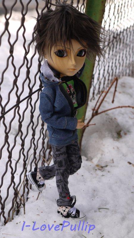 Séance de Matt, dans la Neige.