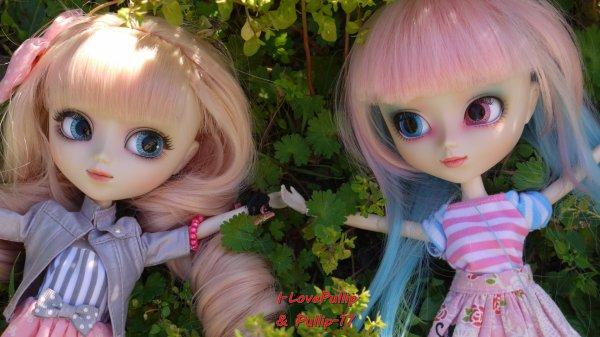 Séance photo d'Allyzée et de Zoélie Par I-LovePullip