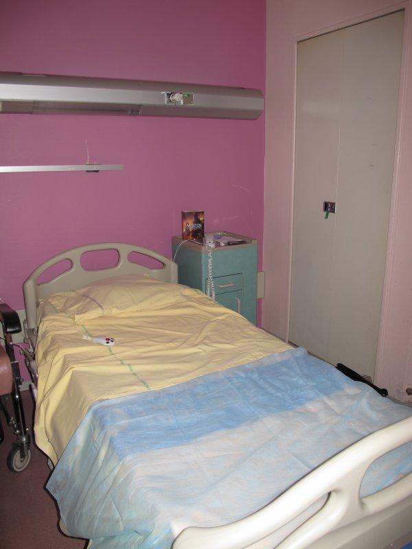 Hôpital : Jour n°1... ♥