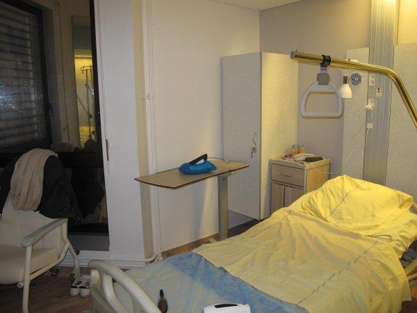 H pital jour n 1 mon abdominoplastie 94 for Chambre hopital