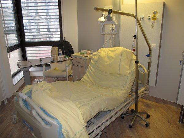 Hôpital : Jour n°2... ♥