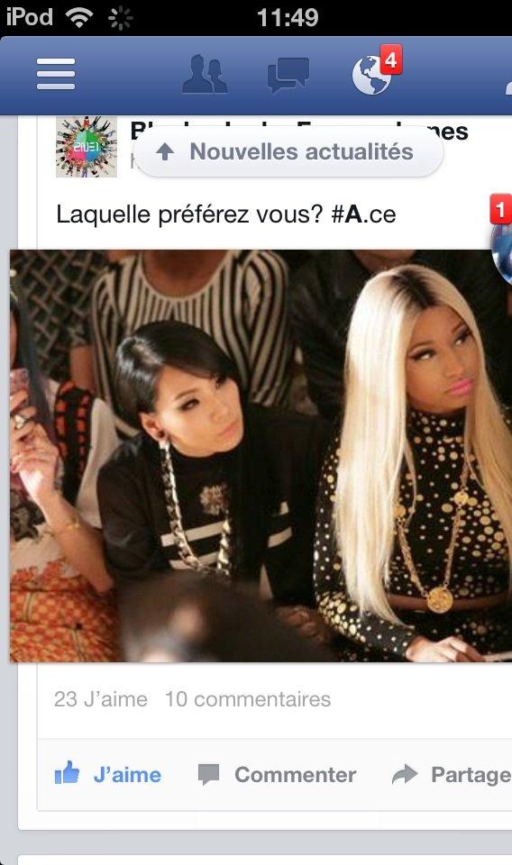 CL & Nicki Minaj :0
