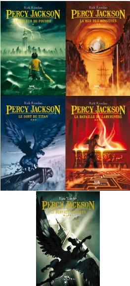 Percy Jackson, Rick Riordan