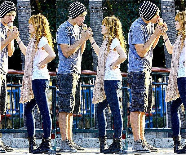 Le 03/11/12:Bella et Tristan étaient a Disney-Land .