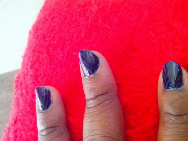 """Un """"nail art"""" spécial FLEMMARD!!"""