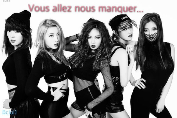 K-PoP time! Les 4minute (suite)