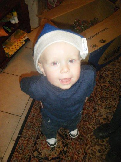 une petite photo de mon petit prince mathys