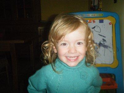 une petite photo de ma princesse melinda