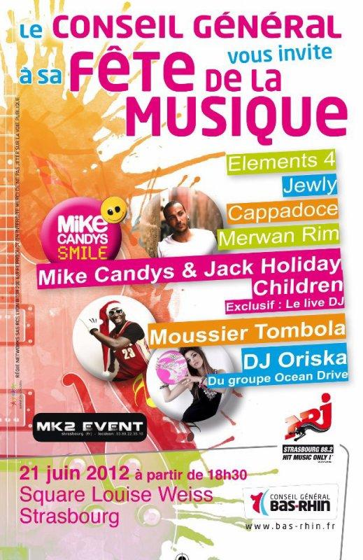 Fête de la musique 2012 @ Strasbourg