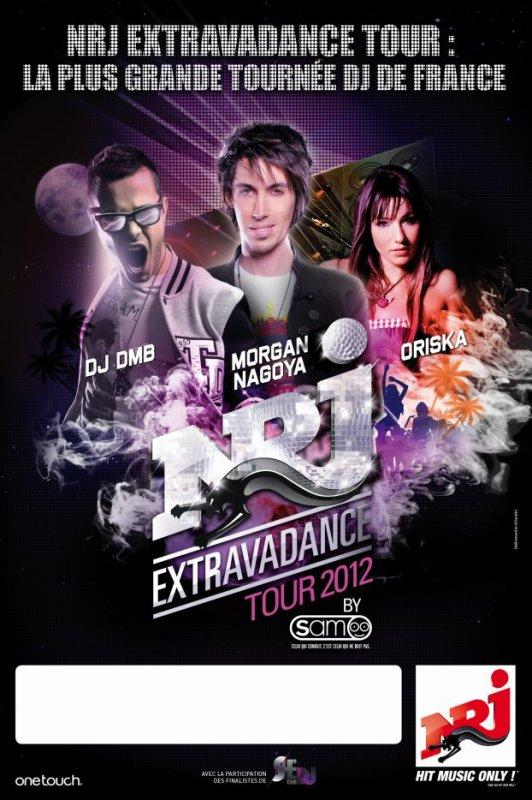 NRJ Extravadance Tour 2012 : Le Traouc à SEIGNOSSE Dpt 40 LANDES