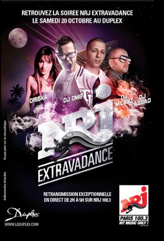 DJ Oriska au Duplex à Paris le 20 octobre 2012