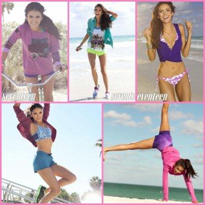 Nina pour Seventeen Fitness ^.^