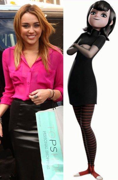 Miley Cyrus dice que odia los vampiros pero será la proxima hija de Dracula...