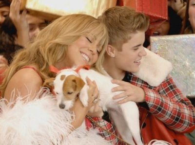 All I want for Christmas is you, videoclip