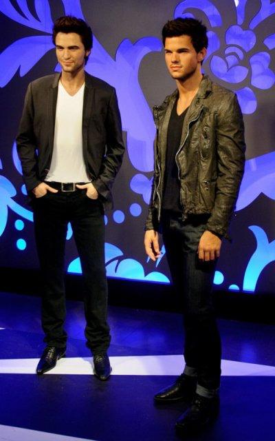Taylor Lautner de Cera en el Madame Tussauds