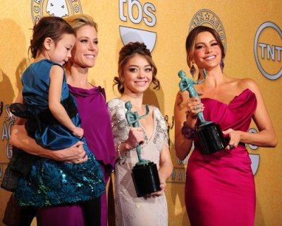 Premios SAG 2012: Sofia Vergara y Sarah Hyland + lista ganadores
