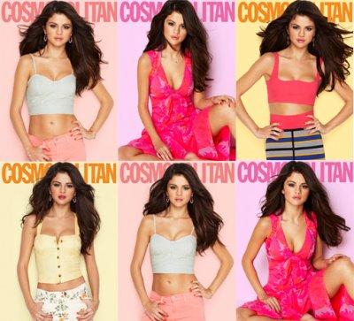Portada revista COSMOPOLITAN: Selena Gomez